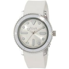 14b79c82b6c FCUK - Ladies White Rubber Indigo Watch - FC1063PW - RRP: £55.00 - Online