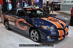 2013 Chicago Bears designed Camry