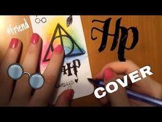 DIY Harry Potter phone case - come fare una cover di Harry Potter ⚯͛ - YouTube