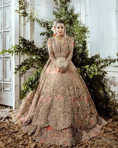 """Pakistan Style Lookbook on Instagram: """"@mehwishhayatofficial stuns in this exquisite Republic Womenswear bridal couture ✨"""""""