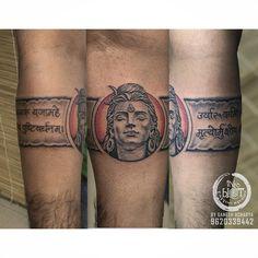 Ganesha Tattoo, Bholenath Tattoo, Tattoo Band, Band Tattoo Designs, Inca Tattoo, Tribal Armband Tattoo, Aztec Tribal Tattoos, Tribal Shoulder Tattoos, Armband Tattoo Design