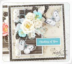 Scrap Art by Lady E: Two cards for Studio75 / Dwie kartki dla Studio75