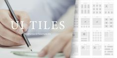 UI Tiles, A Quick and Easy Kit to Layout Websites http://sumo.ly/cff7 #design