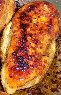 Perfect Chicken - it's supposed to be the best way to make chicken for anything - shredding, chopping, or just eating.  This chicken is delicious!