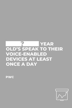 📈 Learn what is the percentage and age group who use their voice-enabled devices at least once a day. 2 Year Olds, Customer Experience, Enabling, Statistics, The Voice, Digital Marketing, Improve Yourself, At Least, Believe