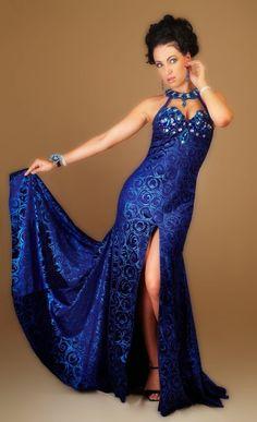 Bellydance costume - blue dress
