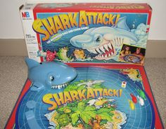 Shark Attack! | 15 Vintage Board Games That Will Make '90s Kids Nostalgic