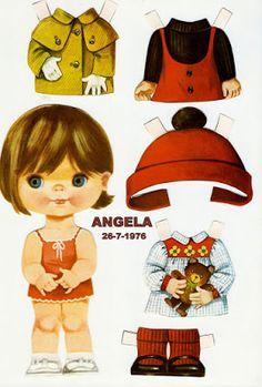 Ana Caldatto : Boneca de Papel