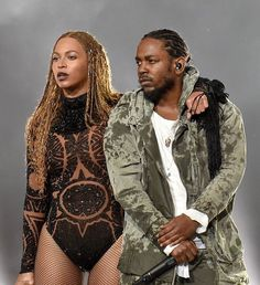 Queen Bee was a surprise opening act for the 2016 BET Awards. It wasn't announced that Beyonce would be involved in this year's awards show, but she and Kendrick Lamar opened wi… Bet Awards, King Kendrick, Kung Fu Kenny, Rap God, Hip Hop And R&b, American Rappers, Beyonce Knowles, Queen B, Bands