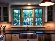 stainless steel country kitchen sinks on pinterest | Beautiful Kraus farm sink