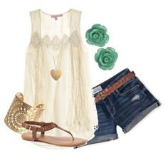 Country Summer by felicia-alexandra on Polyvore