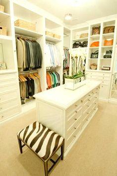 Bedroom Design: dormitorio disea con walk in closets y consejos de...