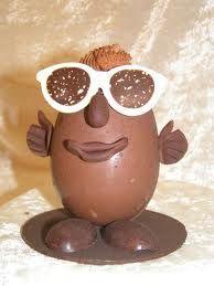 Création en chocolat pour Pâques