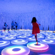 Wonderwall Luminous Installation in Lisbon – Fubiz™