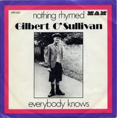 Coverafbeelding Gilbert O'Sullivan - Nothing Rhymed