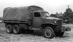Early GMC CCKW 2 ½-ton closed cab long wheel base transport with winch, Pontiac, Michigan, United States, 1940 Source United States Army 6x6 Truck, Fuel Truck, Gmc Trucks, Army Vehicles, Armored Vehicles, Us Armor, Tank Destroyer, Detroit Area, Military Equipment