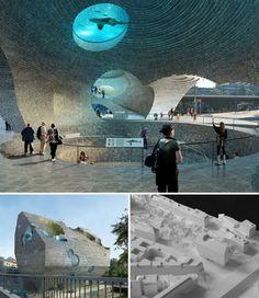 baselzoo03    boltshauser architekten of switzerland has won the bid to design the basel zoo aquarium    dec 13 2012 article