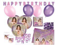XXL Disney's Violetta Party Set für 8 Kinder