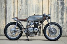 Honda CB550 cafe racer built by Kott Motorcycles CLICK TO READ MORE ABOUT