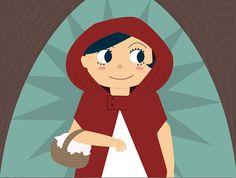 Le Petit Chaperon Rouge (Little Riding Hood) on Behance