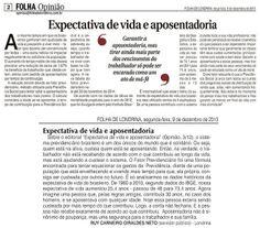 Opinião publicada na Folha de Londrina de 09/12/2013.
