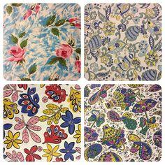 1940's and 50's fabrics