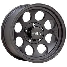 CLASSIC III SATIN BLACK RIM by MICKEY THOMPSON WHEELS