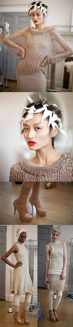 Phenomenal knits by Craig Lawrence for S/S12