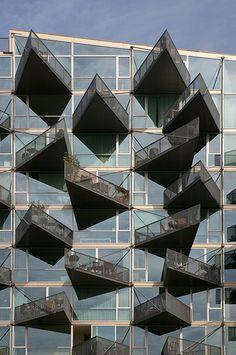 Denmark - Copenhagen - Orestad - VM Houses 03   Flickr - Photo Sharing!