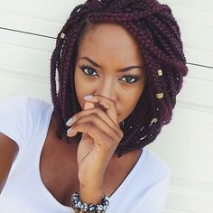 Extra Cool Short Box Braids | Hairstyles 2015 / 2016, Hair Colors and Haircuts