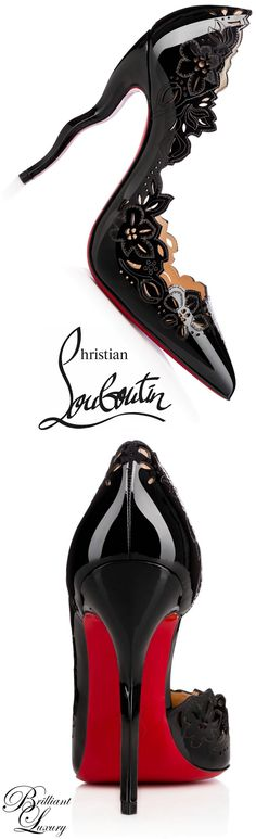Un gioiello di intarsi degni di un ebanista | Brilliant Luxury * Christian Louboutin 'Beloved' 2015