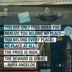 Freedom is detachment. Whatever you own or think you own will ultimately end up enslaving you mentally, emotionally, financially or physically. #freedom #quotestoliveby #mayaangelou