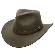 12e8243496c08 Outback Creek Crushable Wool Hat · Australian Outback HatWestern HatsCowboy  HatsSafari HatMens Outdoor ...
