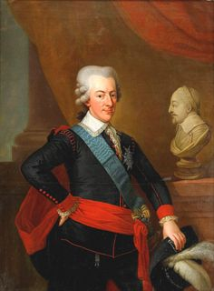 H.M. King Gustaf III of Sweden  (1746-1792) By Krafft - Gustav was a vocal opponent of what he saw as the abuse of political privileges that had been negotiated from the crown on behalf of the nobility since the death of King Charles XII. He seized power from the government in a coup d'état in 1772 that ended the Age of Liberty in Sweden and initiated a campaign to restore autocracy.