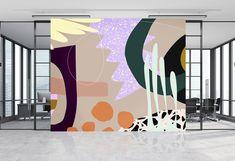 Wall Murals Bedroom, Mural Wall Art, Abstract Wall Art, Fence Art, Lodge Decor, Interior Walls, Room Paint, Paint Designs, Wall Design
