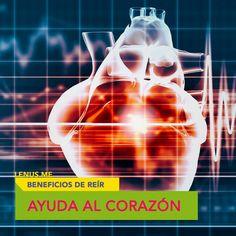 Cuando ríes liberas hormonas que ayudan a bajar la presión sanguínea y el ritmo cardiaco. | #Salud #Risa