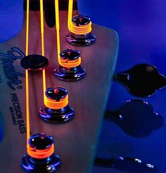 Learn to play the rhythm guitar using these straightforward recommendations. Trying to play a guitar is easy to learn, and will open up countless musical doors. Electric Violin, Electric Guitars, Learn To Play Guitar, Neon Glow, Toyama, Custom Guitars, Guitar Strings, Cool Guitar, Music Guitar