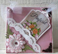 Voorbeeldkaart - Mooi - Categorie: Scrapkaarten - Hobbyjournaal uw hobby website