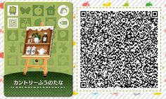 A wide choice of qr codes for Animal Crossing New Leaf and Happy Home Designer Animal Crossing 3ds, Animal Crossing Qr Codes Clothes, Wolf's Rain, Acnl Paths, Flag Code, Ciel Nocturne, My Design, Custom Design, Design Ideas