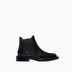 La première fois que je ai pris chaussures Zara. Très belles bottes