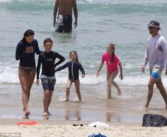 Princess Mary's son Christian saved on the Gold Coast by lifeguards | Daily Mail Online