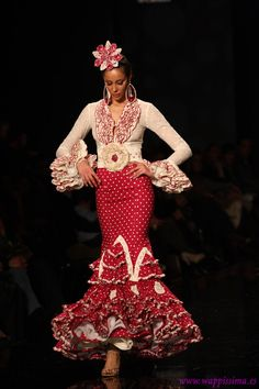 Flamenco Fashion by Faly Feria al Rocío, 2013
