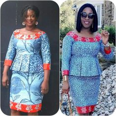 2019 Ankara Skirt And blouse: 50 most Fashionable and Trendy Ankara skirt and blouse styles To Try o African Print Dress Designs, African Print Clothing, African Print Dresses, African Print Fashion, Latest African Fashion Dresses, African Dresses For Women, African Attire, Shweshwe Dresses, Ankara Skirt And Blouse