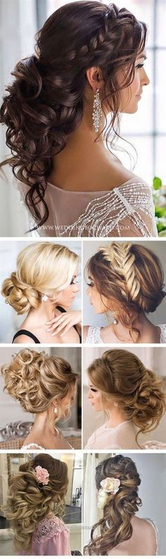 Superb Nice Killer Swept-Back Wedding Hairstyles. Includes The Half Up Half Down Look For Long Hair, Medium Length and Short Hair. Works With Veil or Without For Bridesmaids The post Killer Swept-Back Wedding Hairstyles. Includes The Half Up Half Down Look For L… appeare . ..