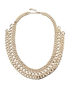 Pieces Mille Chunky Chain Short Necklace - could make this!