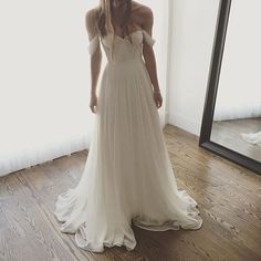 White Off the Shoulder Sweetheart Wedding Bridesmaids Prom Dress, BG51516