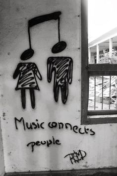 Music connects people. Music connects the world.