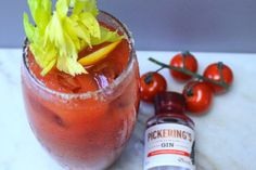 Pickering's Gin Red Snapper 😍