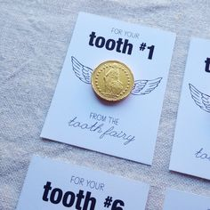 hello, Wonderful - GOLD COIN TOOTH FAIRY FREE PRINTABLE