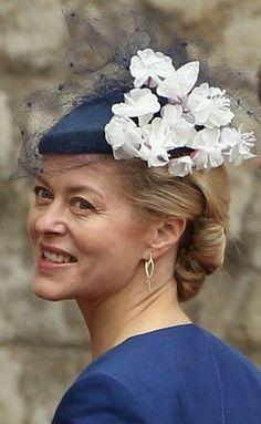 Lady Helen Taylor at the Royal Wedding Fascinator Hats, Fascinators, Headdress, Headpiece, Elizabeth Taylor, Queen Elizabeth, Prince William And Catherine, Prince Edward, Eugenie Of York